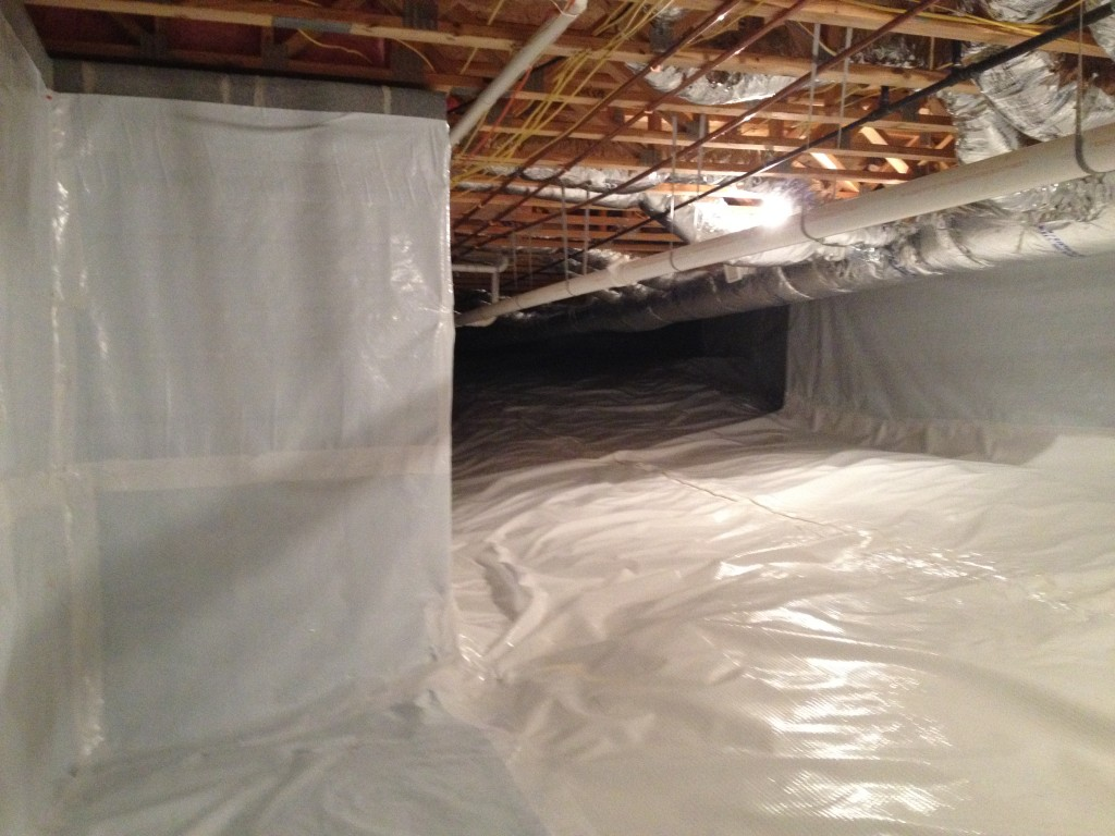 Photo of Crawl space encapsulation Knoxville TN
