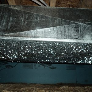 image of ductwork sweating