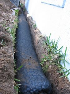 French Drain Knoxville Curtain Drain Waterproofing