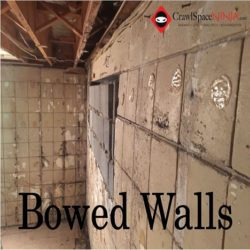 image of bowing walls