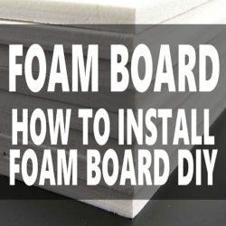Image of How to install foam board in crawl space