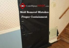 Image of mold removal mistakes containment_cropped